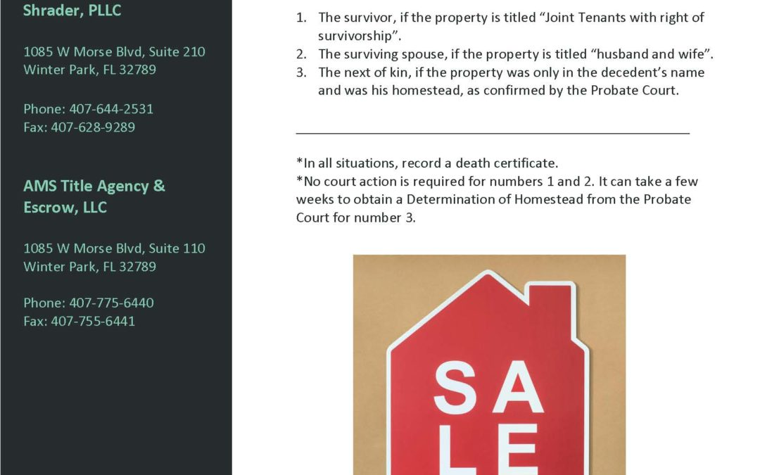 Volume VII: Who is the Seller? (1 of 2)